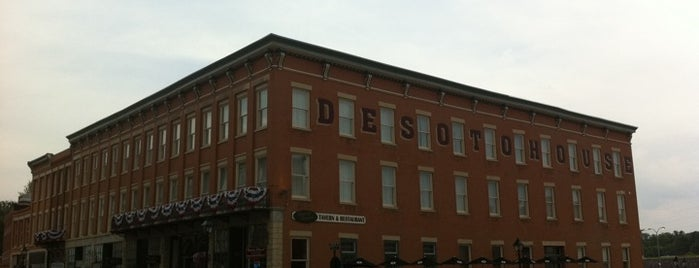 DeSoto House Hotel is one of Galena To Do.