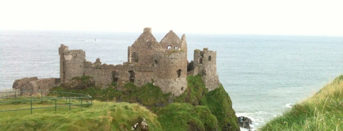 Dunluce Castle is one of GoT.