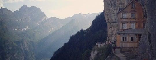 Berggasthaus Aescher is one of Orte, die Cy gefallen.