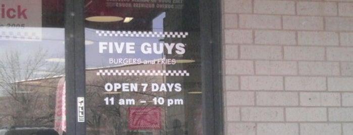 Five Guys is one of Things I needa do.