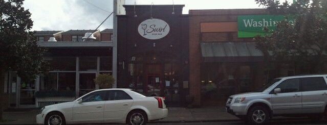 Swirl Wine Bar is one of Seattle Badge Quests.