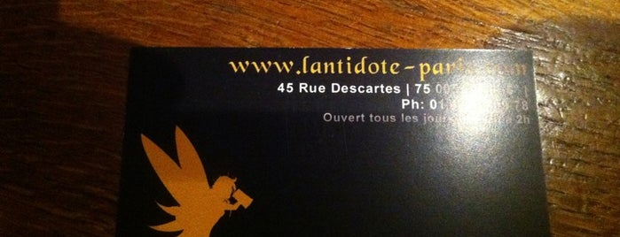 L'Antidote is one of Bars 2.