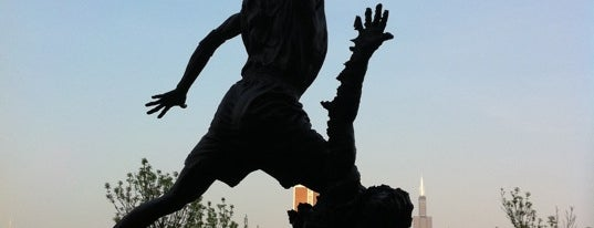 The Spirit by by Omri & Julie Rotblatt-Amrany (Michael Jordan Statue) is one of FUN.