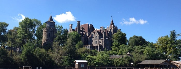 Boldt Castle is one of East USA.