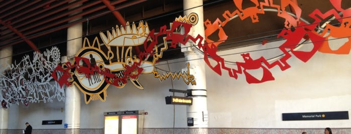 Metro Rail - Memorial Park Station (Gold) is one of Great Places for Kids.