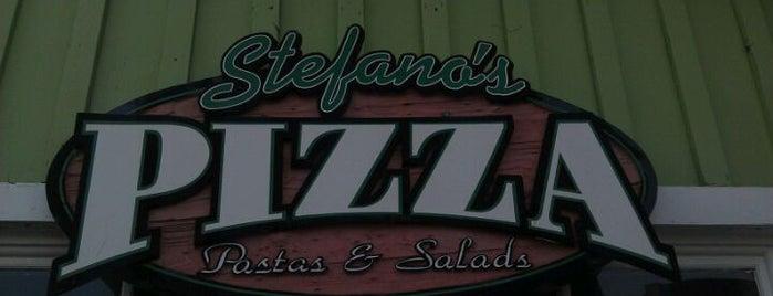 Stefanos Pizza is one of Posti salvati di Angel.