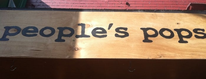 People's Pops is one of Dessert Stops.