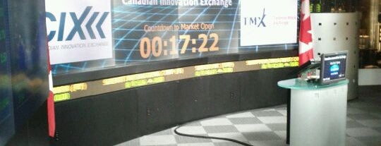 TSX Toronto Stock Exchange is one of Things to Do in Toronto.