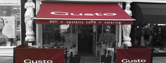 Gusto Deli is one of Cotswolds.