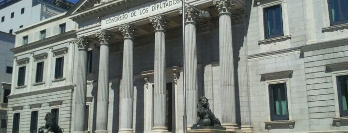 Congreso de los Diputados is one of Madriz.