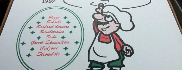 Sam's Pizza & Subs is one of สถานที่ที่ DaByrdman33 ถูกใจ.