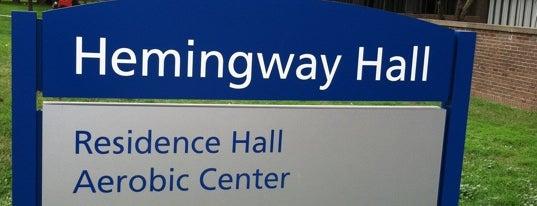 Hemingway Hall is one of Tempat yang Disukai Erin Elizabeth.