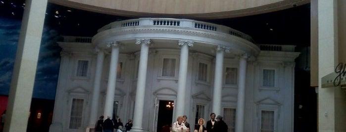 Abraham Lincoln Presidential Museum is one of Mr. President, Mr. President....