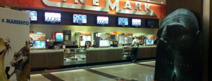 Cinemark is one of Tempat yang Disukai Mario.