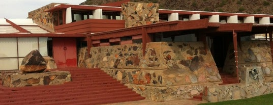 Taliesin West is one of Frank Lloyd Wright Architecture Design.