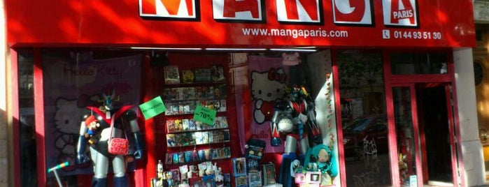 Manga Paris is one of Les lieux geek de Paris.