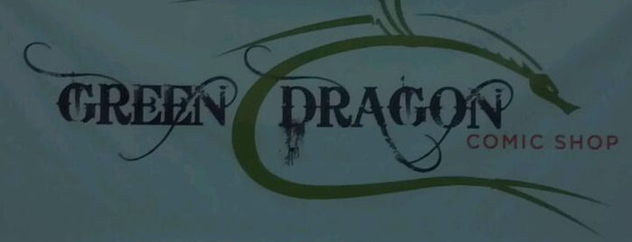 Green Dragon Comic Shop is one of Places to Try.