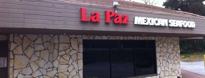 La Paz Mexican Restaurant is one of Orte, die Leslie gefallen.