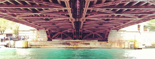 Michigan Avenue Bridge is one of Places I've Been!.