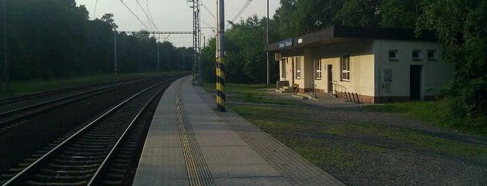 Železniční stanice Ostrava-Třebovice is one of Ostravská nádraží.