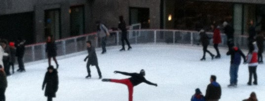 The Rink at Rockefeller Center is one of NYC Beat.