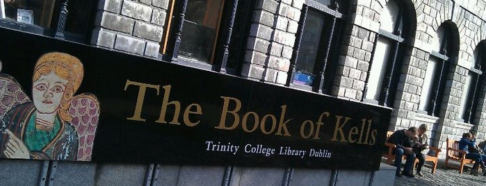 Trinity College Old Library & The Book of Kells Exhibition is one of Dublin City Guide.