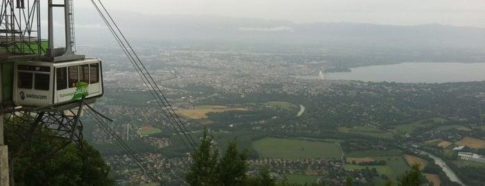 Télépherique du Salève is one of Lugares favoritos de Amit.