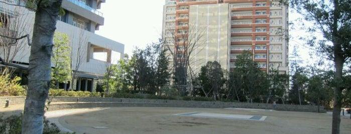 リエトコート ヴェルデガーデン (円形広場) is one of 武蔵小杉再開発地区.