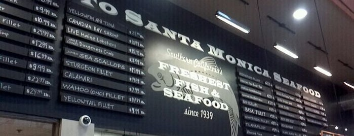 Santa Monica Seafood is one of SoCal.