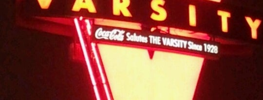The Varsity is one of Atlanta 2013 Tom Jones.