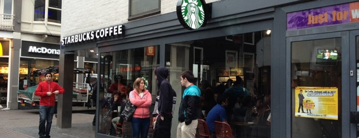 Starbucks is one of Amsterdam: student edition.