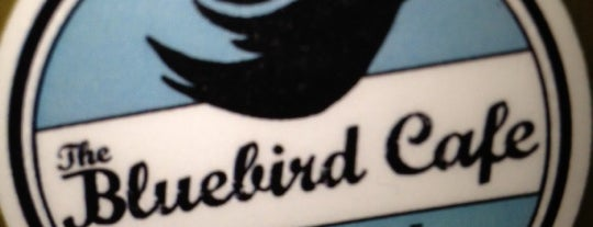 The Bluebird Cafe is one of Orte, die Priscilla gefallen.