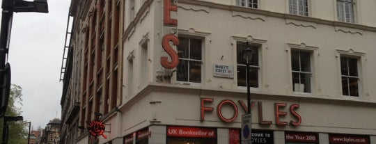 Foyles is one of Britain.