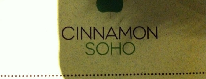 Cinnamon Soho is one of London.