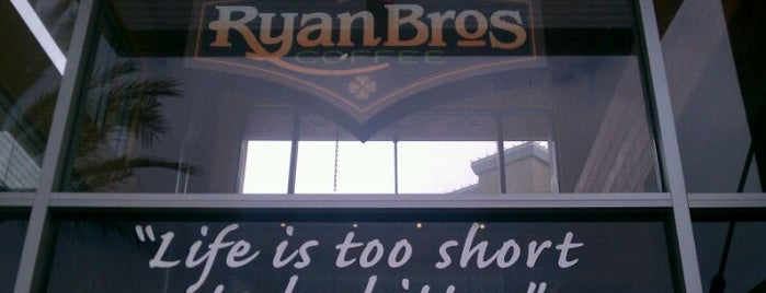 Ryan Bros. Coffee is one of Lugares favoritos de John.