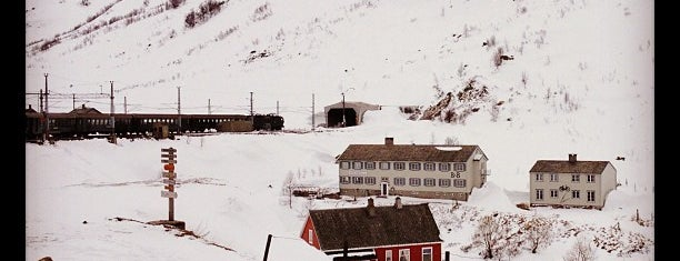 Myrdal stasjon is one of Norway.