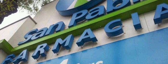 Farmacia San Pablo is one of Lugares favoritos de Jorge.