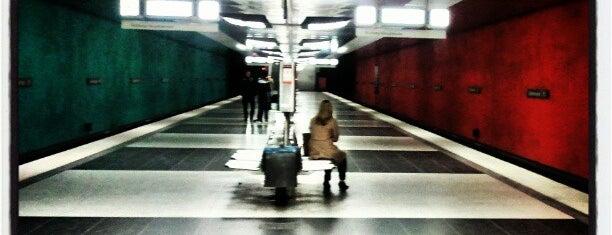 U Wettersteinplatz is one of Transit.