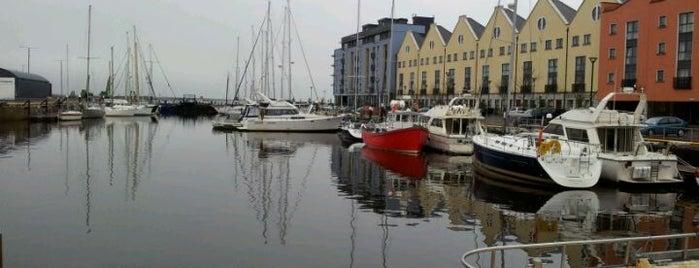 Galway Harbour is one of Evan : понравившиеся места.