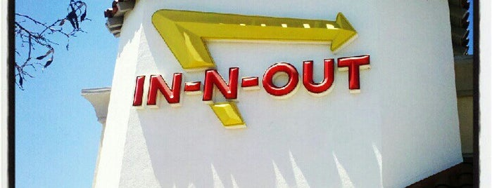 In-N-Out Burger is one of Jared's Liked Places.