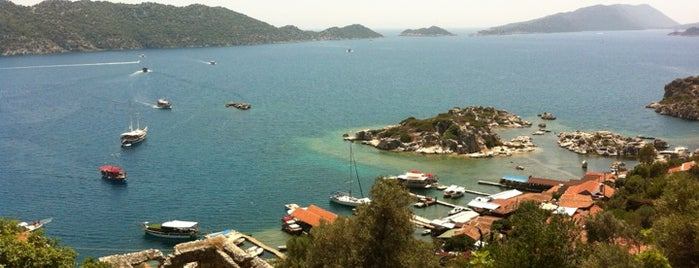 Simena is one of Kaş & Kalkan.