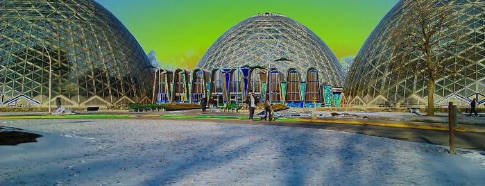 Mitchell Park Horticultural Conservatory (The Domes) is one of Milwaukee's Best Entertainment - 2012.