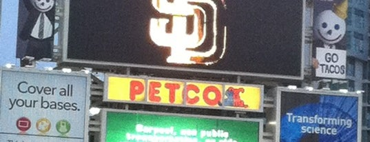 Petco Park is one of Baseball Stadiums.