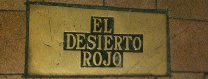 El Desierto Rojo is one of Estrella Galicia fóra de Galicia.