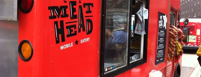 MeatHead Mobile Eatery is one of Washington DC Food Trucks.