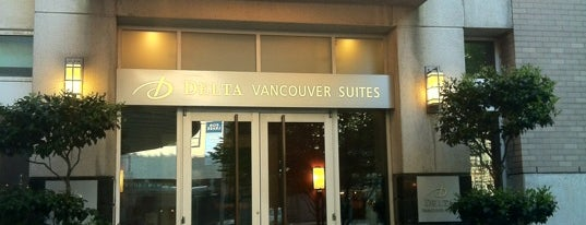 Delta Hotels by Marriott Vancouver Downtown Suites is one of Lugares favoritos de Michael.