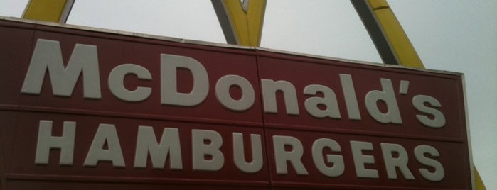 McDonald's is one of Gordon'un Kaydettiği Mekanlar.