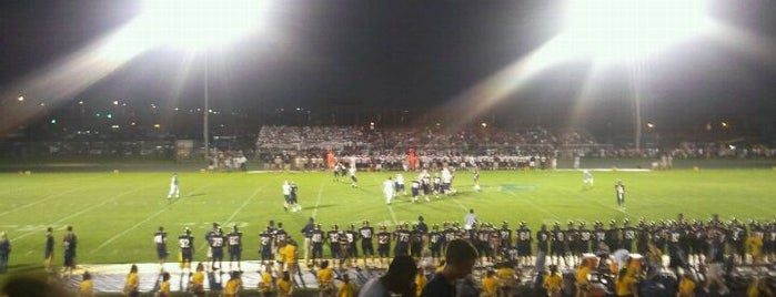 Neuqua Valley High School is one of High Schools I Referee.