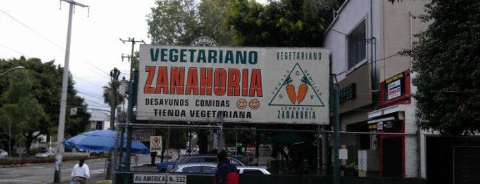 Restaurant Zanahoria Vegetariano is one of Teresa : понравившиеся места.
