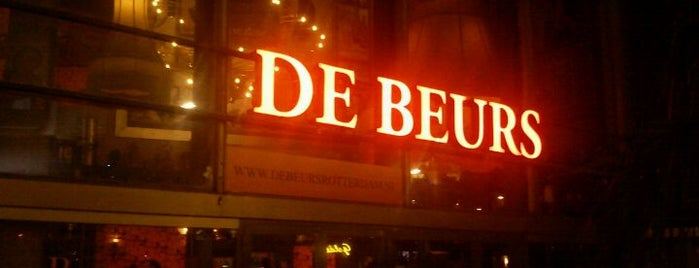 Beurs is one of Eat see do in Rotterdam.